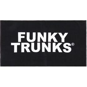 Funky Trunks Towel, still black